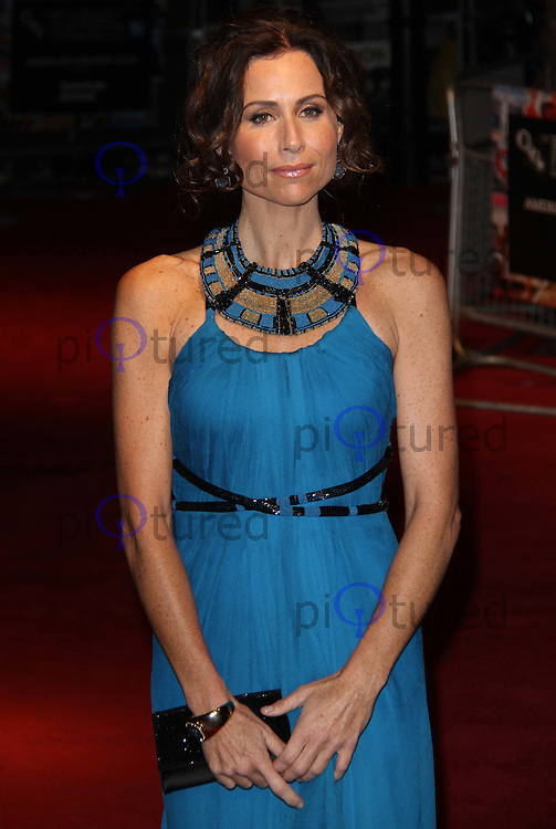 Minnie Driver Conviction Premiere BFI London Film Festival, Vue Cinema, Leicester Square, London, UK, 15 October 2010: For piQtured Sales contact: Ian@Piqtured.com +44(0)791 626 2580 (picture by Richard Goldschmidt)