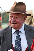Former Champion Trainer Peter Easterby during the York Coral Sprint Trophy meeting at York Racecourse, York, United Kingdom on 12 October 2019.