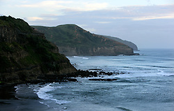 NEW ZEALAND MURIWAI BEACH 12DEC07 - Coastline at Muriwai Beach on the north island's west coast, New Zealand...jre/Photo by Jiri Rezac..© Jiri Rezac 2007..Contact: +44 (0) 7050 110 417.Mobile:  +44 (0) 7801 337 683.Office:  +44 (0) 20 8968 9635..Email:   jiri@jirirezac.com.Web:    www.jirirezac.com..© All images Jiri Rezac 2007 - All rights reserved.
