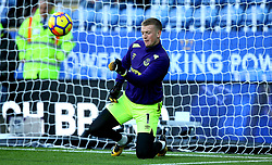 Jordan Pickford of Everton - Mandatory by-line: Robbie Stephenson/JMP - 29/10/2017 - FOOTBALL - King Power Stadium - Leicester, England - Leicester City v Everton - Premier League