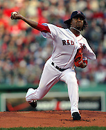 Pedro Martinez, 2004 Boston Red Sox, make a run at history getting through a tough fight with the New York Yankees and then eventually sweeping the St. Louis Cardinals for the World Series title.