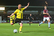 Burton Albion forward Liam Boyce (27) scores a goal, 1-0 during the second round or the Carabao EFL Cup match between Burton Albion and Aston Villa at the Pirelli Stadium, Burton upon Trent, England on 28 August 2018.