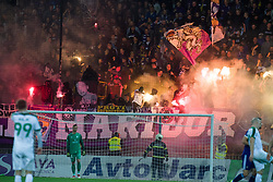 Viole during football match between NK Maribor and NK Olimpija Ljubljana in Round #14 of Prva liga Telekom Slovenije 2018/19, on October 27, 2018 in Ljudski Vrt, Maribor, Slovenia. Photo by Morgan Kristan