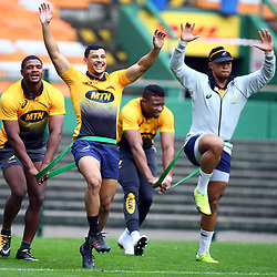 Embrose Papier of South Africa during the South African - Springbok Captain's Run at DHL Newlands Stadium. Cape Town.South Africa. 22,06,2018 23,06,2018 Photo by (Steve Haag JMP)
