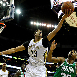 03-06-2015 Boston Celtics at New Orleans Pelicans
