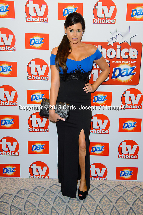 TV Choice Awards 2013 - London.<br /> Jessica Wright arriving at the TV Choice Awards 2013, The Dorchester Hotel, London, United Kingdom. Monday, 9th September 2013. Picture by Chris  Joseph / i-Images