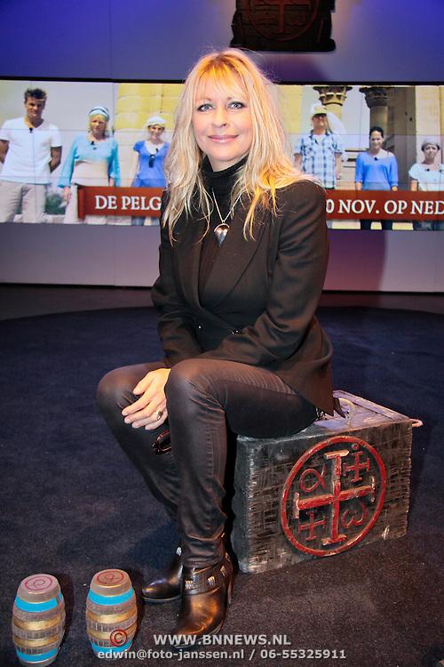 NLD/Hilversum/20111103- Perspresentatie De Pelgrimscode EO, Manuela Kemp