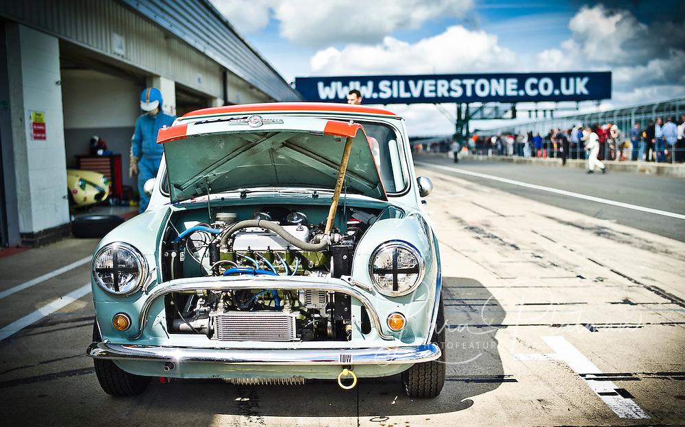 Silverstone Classic 2012, Mini cooper,