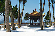 The Syuanzang Temple is a peaceful stop on the Sun Moon Lake loop.