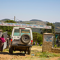 Hamlin ambulance in Jarso, Ethiopia.