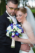 Kate and Shawn Egerter are wed at the Host Resort in Lancaster, PA.