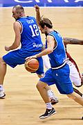 DESCRIZIONE : Trieste Nazionale Italia Uomini Torneo internazionale Italia Canada Italy Canada<br /> GIOCATORE : Giuseppe Poeta Marco Cusin <br /> CATEGORIA : Palleggio Blocco Fallo Sequenza<br /> SQUADRA : Italia Italy<br /> EVENTO : Torneo Internazionale Trieste<br /> GARA : Italia Canada Italy Canada<br /> DATA : 03/08/2014<br /> SPORT : Pallacanestro<br /> AUTORE : Agenzia Ciamillo-Castoria/GiulioCiamillo<br /> Galleria : FIP Nazionali 2014<br /> Fotonotizia : Trieste Nazionale Italia Uomini Torneo internazionale Italia Canada Italy Canada