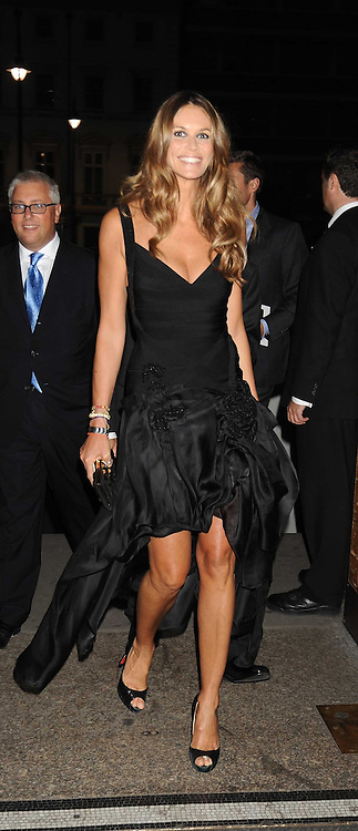 ELLE MACPHERSON at British Style Observed - part of National Magazine's 30 Days of Fashion & Beauty festival featuring photographs by Mary McCartney with proceeds from the evening going to Macmillan Cancer Care held at the Natural History Museum, Cromwell Road, London on 16th September 2008.