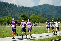 Runners during running race Tek trojk et event Pot ob zici 2016, on May 7, 2016, in Ljubljana, Slovenia. Photo by Vid Ponikvar / Sportida