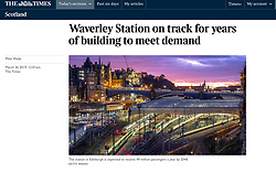 The Times; Waverley Station