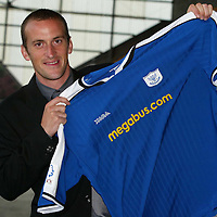 Paul Sheerin pictured at McDiarmid Park after signing a two year deal to join St Johnstone from Aberdeen.<br />