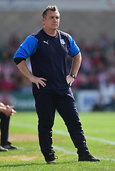 Tranmere Rovers manager Micky Mellon - Mandatory by-line: Alex James/JMP - 22/04/2019 - FOOTBALL - Sincil Bank Stadium - Lincoln, England - Lincoln City v Tranmere Rovers - Sky Bet League Two