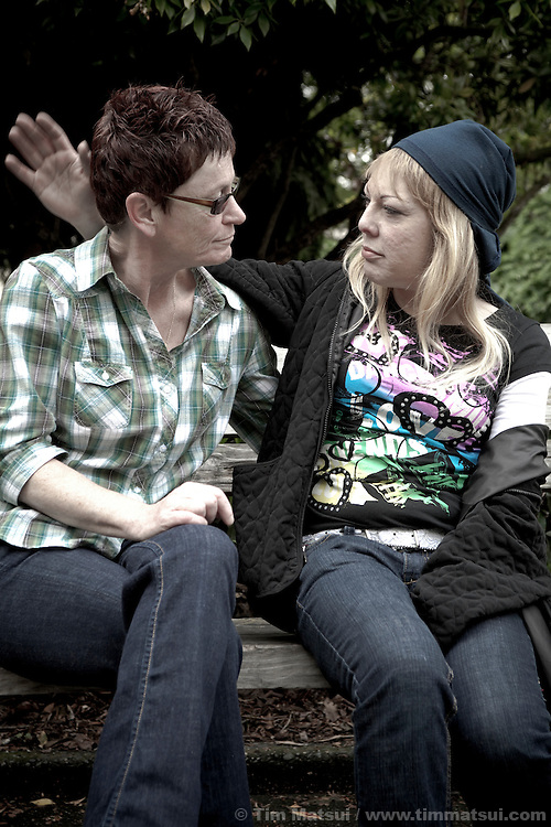 Eileen Corcoran and Renee Sterling (Nay Nay) in Seattle.