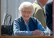 Queen Elizabeth II during the Royal Windsor Horse Show - 09 May 2018