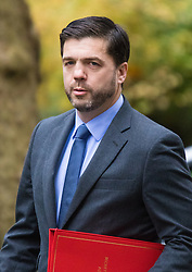 Downing Street, London, November 17th 2015. Welsh Secretary Stephen Crabb arrives at Downing Street for the weekly cabinet meeting.