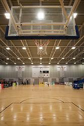 General view of the Ellesmere Port Arena - Photo mandatory by-line: Jack Phillips/JMP - 25/11/2018 - BASKETBALL - Ellesmere Port Arena - Ellesmere Port, England - Cheshire Phoenix v Bristol Flyers - {event}