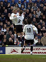 Copyright Sportsbeat. 0208 3926656<br />Picture: Henry Browne<br />Date: 15/03/2003<br />Aston Villa v Manchester United FA Barclaycard Premiership<br />David Beckham and Nicky Butt celebrate after Beckham's opener