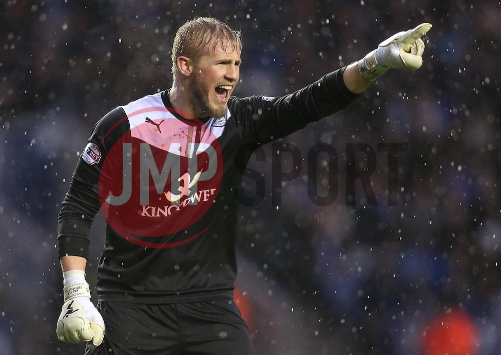 Leicester City's Kasper Schmeichel - Photo mandatory by-line: Matt Bunn/JMP - Tel: Mobile: 07966 386802 25/01/2014 - SPORT - FOOTBALL - King Power Stadium - Leicester - Leicester City v Middlesbrough - Sky Bet Championship