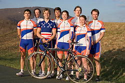 Members of the University of Virginia Cycling Team met at Reeds Gap on the Blue Ridge Parkway in Virginia on April 9, 2007 for a team photo shoot.