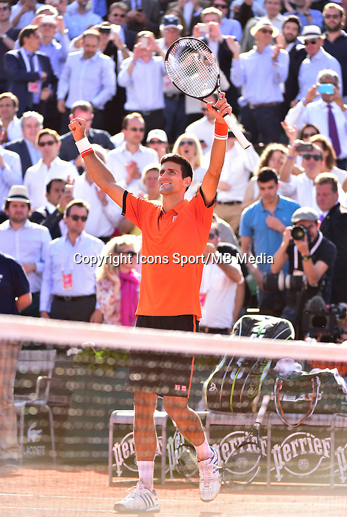 Novak DJOKOVIC - 03.06.2015 - Jour 9 - Roland Garros 2015<br />