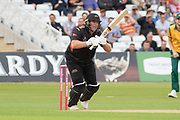 Mark Cosgrove batting during the Vitality T20 Blast North Group match between Notts Outlaws and Leicestershire Foxes at Trent Bridge, West Bridgford, United Kingdon on 27 July 2019.