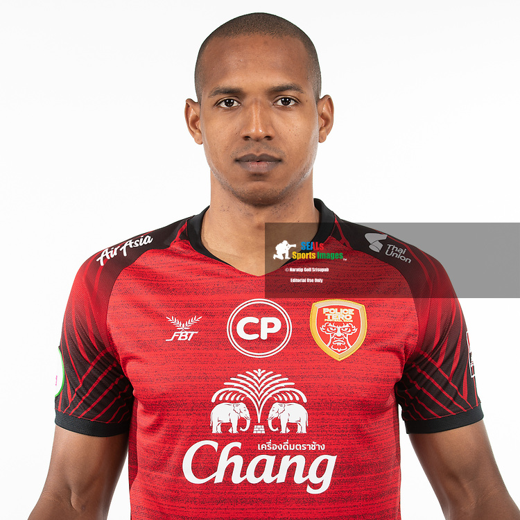 THAILAND - MARCH 05: Josimar Rodrigues #9 of Police Tero FC on March 05, 2019.<br /> .<br /> .<br /> .<br /> (Photo by: Naratip Golf Srisupab/SEALs Sports Images/MB Media Solutions)