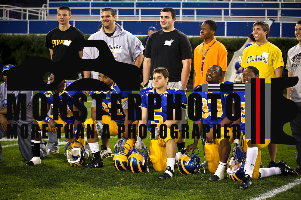 Senior running back Jerry Butler ran for 103 yards and scored a touchdown and junior quarterback Pat Devlin threw for 304 yards and another score as the University of Delaware football team closed out the spring season with the annual Blue-White Spring Scrimmage Friday night at Delaware Stadium.