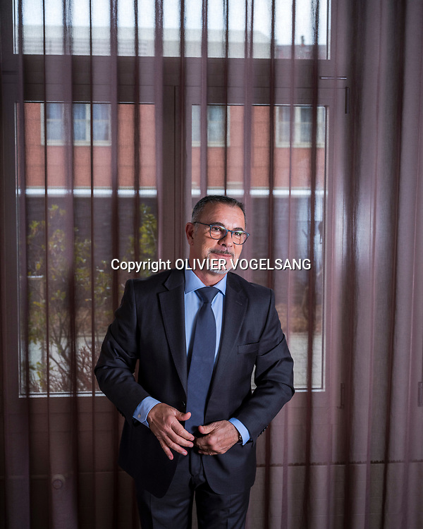 Lausanne, mars 2018. Dimitri Djordjèvic, directeur général, Chief Executive Officer à la clinique La Source, avenue Vinet 30. © Olivier Vogelsang