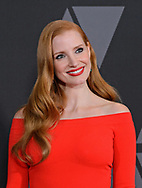 12.11.2017; Hollywood, USA: JESSICA CHASTAIN<br /> attends the Academy&rsquo;s 2017 Annual Governors Awards in The Ray Dolby Ballroom at Hollywood &amp; Highland Center, Hollywood<br /> Mandatory Photo Credit: &copy;AMPAS/Newspix International<br /> <br /> IMMEDIATE CONFIRMATION OF USAGE REQUIRED:<br /> Newspix International, 31 Chinnery Hill, Bishop's Stortford, ENGLAND CM23 3PS<br /> Tel:+441279 324672  ; Fax: +441279656877<br /> Mobile:  07775681153<br /> e-mail: info@newspixinternational.co.uk<br /> Usage Implies Acceptance of Our Terms &amp; Conditions<br /> Please refer to usage terms. All Fees Payable To Newspix International