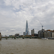 The Shard architecture City of London on 18 July 2019, UK.