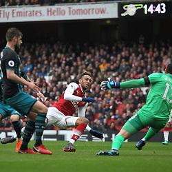 Arsenal v Southampton, Premier League, 8 April 2018