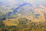 Aerial view of Makhtesh Ramon (Ramon Crater) Negev, Israel