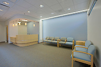 Kaiser Permanente Interior Image of Reception/Waiting Area after construction completion