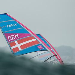 2012 Olympic Games London / Weymouth<br /> RSX man racing day 1 <br /> RS:X MenDENFleischer Sebastian