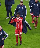 Fussball  DFB Pokal  Achtelfinale  2017/2018   FC Bayern Muenchen - Borussia Dortmund        20.12.2017 David Alaba (Mitte, FC Bayern Muenchen)