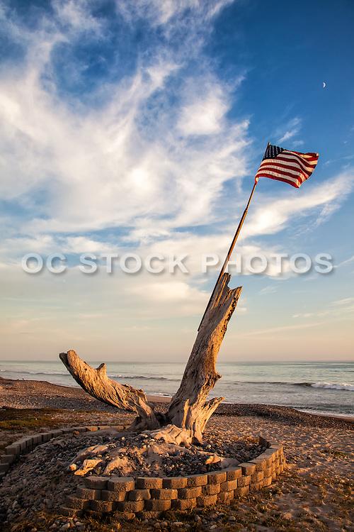 9/11 Flag Memorial At Poche Beach San Clemente