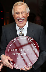 AUG 07 2013 Sir Bruce Forsyth unveils memorial plaques