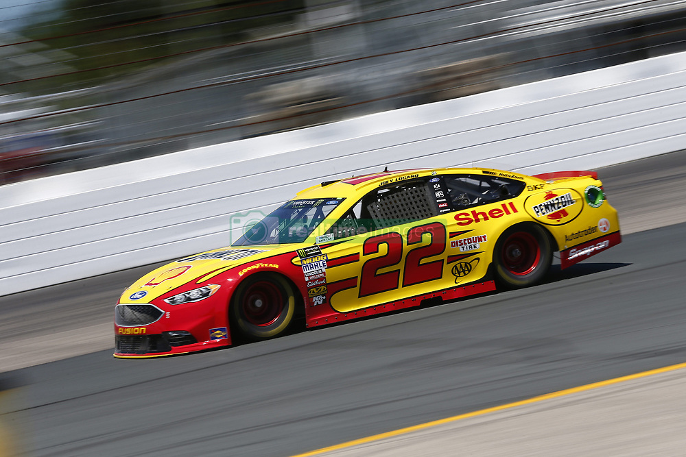 July 20, 2018 - Loudon, New Hampshire, United States of America - Joey Logano (22) takes to the track to practice for the Foxwoods Resort Casino 301 at New Hampshire Motor Speedway in Loudon, New Hampshire. (Credit Image: © Justin R. Noe Asp Inc/ASP via ZUMA Wire)