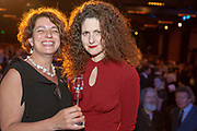 Rosa Salinas and Elsa Rooke from The Monteverdi Choir and Orchestras<br /> Winner of the RPS Music Award for Opera and Music Theatre for Monteverdi 450<br /> Photographed at the RPS Music Awards, London, Wednesday 9 May<br /> Photo credit required:  Simon Jay Price<br /> www.rpsmusicawards.com  #RPSMusicAwards