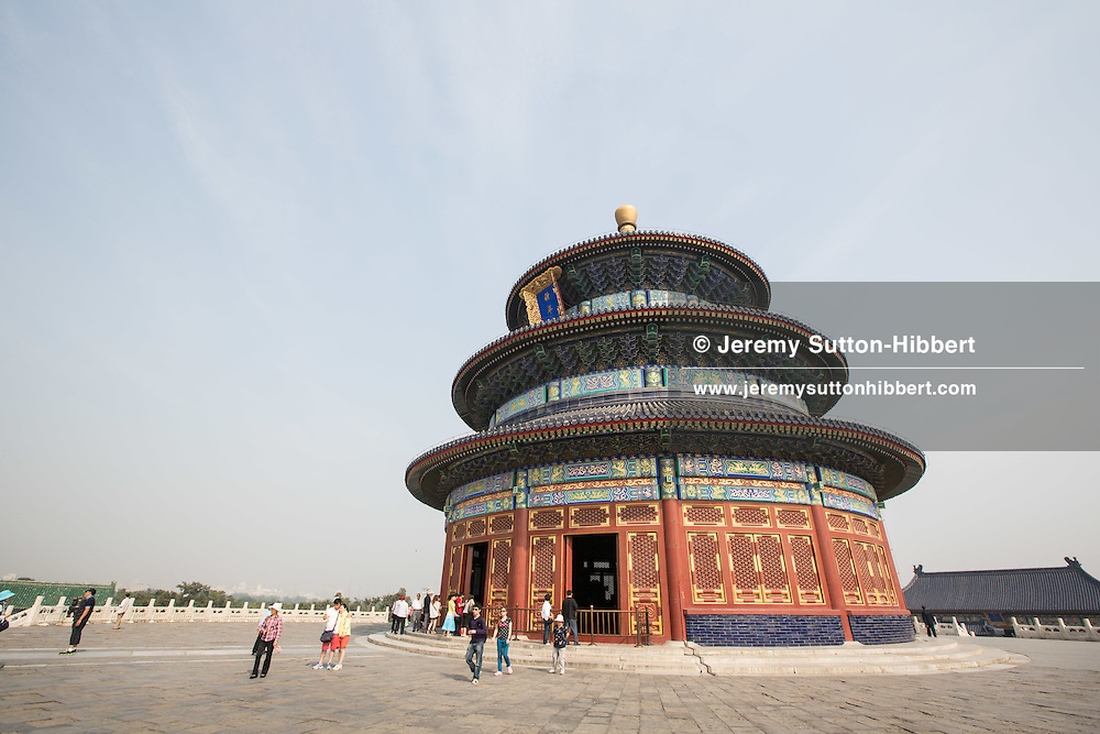 Hall of Prayer for Good Harvests, (Qinian DIan), at the Temple of Heaven, in Beijing, China, Thursday 31st May 2012.