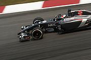 March 28, 2014 - Sepang, Malaysia. Malaysian Formula One Grand Prix. Adrian Sutil (GER), Sauber-Ferrari<br /> <br /> © Jamey Price / James Moy Photography