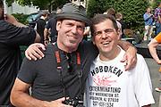 Mark Moran & Jack Silbert at Maxwell's Block Party