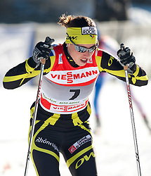 05.01.2011, Nordic Arena, Toblach, ITA, FIS Cross Country, Tour de Ski, Qualifikation Sprint Women and Men, im Bild Laure Barthelemy (FRA, #7). EXPA Pictures © 2011, PhotoCredit: EXPA/ J. Groder
