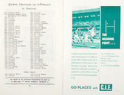 All Ireland Senior Hurling Championship Final,.02.09.1962, 09.02.1962, 2nd September 1962,.Minor Tipperary v Kilkenny, .Senior Wexford v Tipperary, Tipperary 3-10 Wexford 2-11, ..The Medals for the All Ireland Championships are made by J Miller 17 Duke Street Dublin 2, ..CIE, .The deciding point, .59 Upper O'Connell Street Dublin 1,