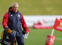 Rugby Union - 2017 British & Irish Lions Tour of New Zealand - Training Session <br /> <br /> Warren Gatland head coach during the British & Irish Lions training session, ahead of the match against The Blues, at the QBE Stadium, Auckland. <br /> <br /> COLORSPORT/LYNNE CAMERON
